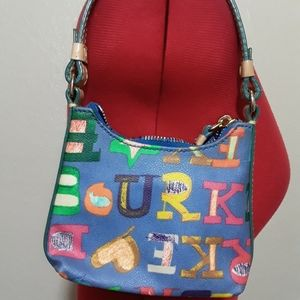Dooney and Bourke colorful tiny purse